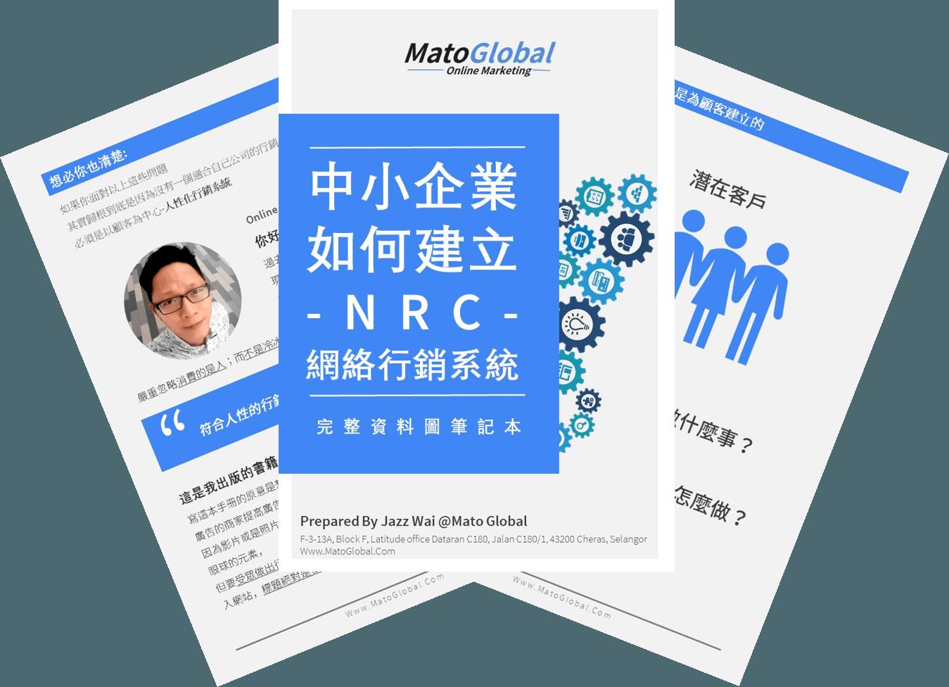 NRC Online Marketing InfoGraphic