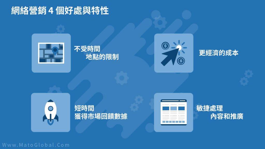 網絡營銷 4 個好處與特性