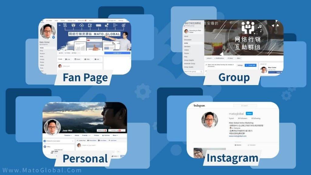 Facebook 免費推廣方式
