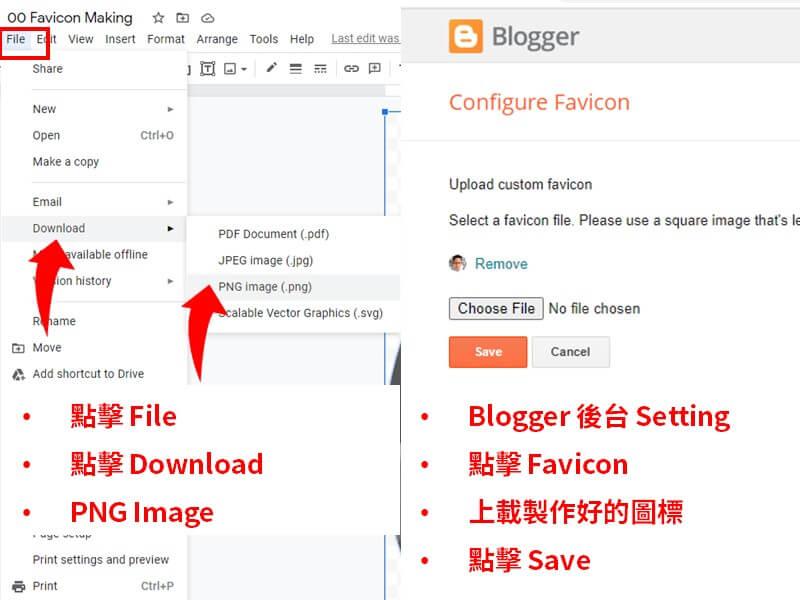 download blogger header logo